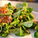 Insalata di tonno, arance e olive
