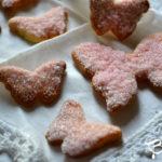 Biscotti alle mandorle ispirati alle farfalle dei Nabokov