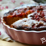 Torta Soffice con Fragole e Rabarbaro