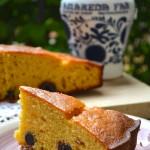 Torta Semplice con amarene, yogurt e olio extravergine