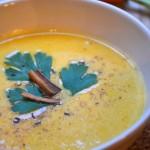 Crema di Carote al Latte di Cocco dal libro Zuppe à Porter di Chatherine Bley