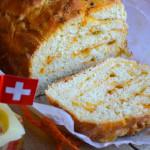 Pane sfogliato con Emmentaler, Peperone Dolce di Altino e Basilico