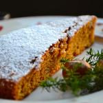 Torta langarola di nocciole (con farina)