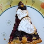 Tarte alla Oléron (tarte ai frutti di bosco)
