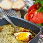 Terrina monferrina di pomodoro, uova ed erbe fini