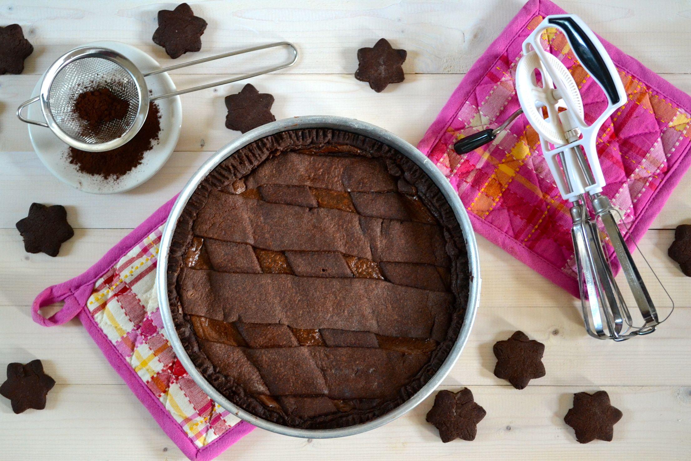 Torte Da Credenza Alice : Crostata al cioccolato di ernst knam