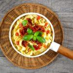 Fettuccine pomodoro e limone (con Pasta Maker Philips)