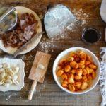 Cuiette di Entracque (gnocchi di patate con ragout di salsiccia)