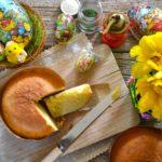 Pan di Pasqua (pane brioche al formaggio)