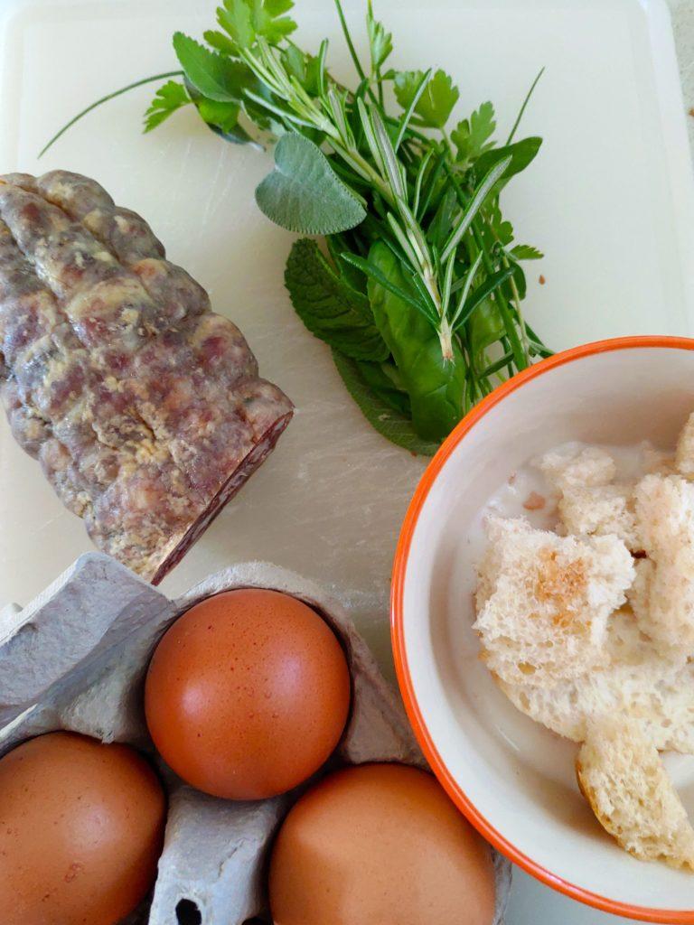 ingredienti frittata rognosa