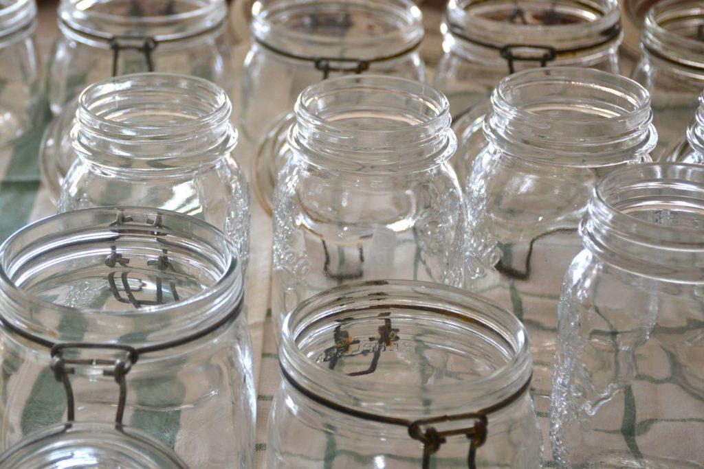 vasi di vetro