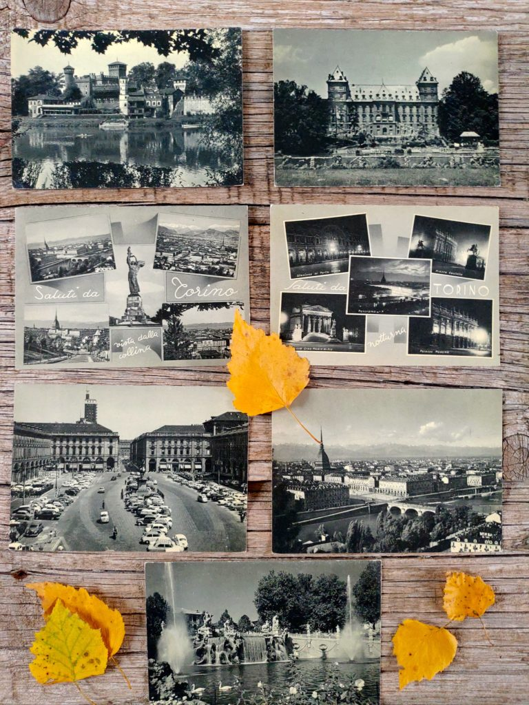 Cartoline Torino Bianco e Nero